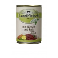 LandFleisch Wet Dog 400gr Rumen & rice with organic vegetables