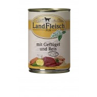 LandFleisch Wet Dog 400gr Chicken & rice with extra lean organic vegetables