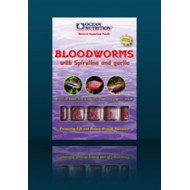 Frozen Bloodworm with Spirulina and Garlic Blister 100gr