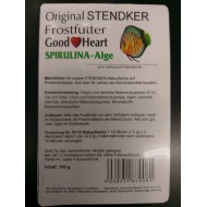 Original Stendker Frozen Food Good Heart - Spirulina Algae Blister 100gr